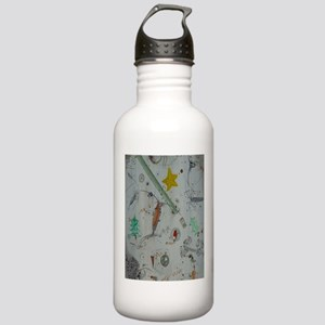 Plankton at Christmas Island Stainless Water Bottl