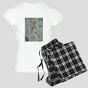 Plankton at Christmas Island Women's Light Pajamas