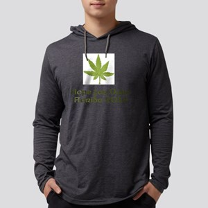 Hope For Dope Mens Hooded Shirt