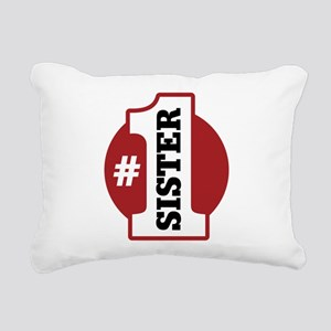 1sister-01 Rectangular Canvas Pillow