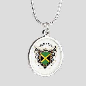 Jamaica Silver Round Necklace