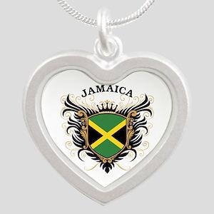 Jamaica Silver Heart Necklace