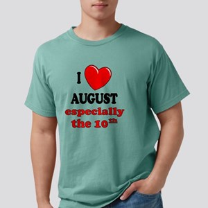 august10 Mens Comfort Colors Shirt