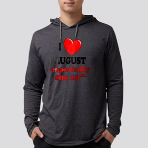 august10 Mens Hooded Shirt