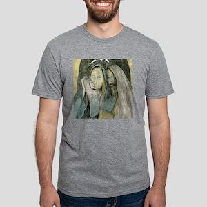 Holy Family Mens Tri-blend T-Shirt
