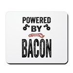 Powered by Bacon Mousepad