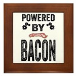 Powered by Bacon Framed Tile
