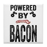 Powered by Bacon Tile Coaster