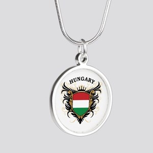 Hungary Silver Round Necklace