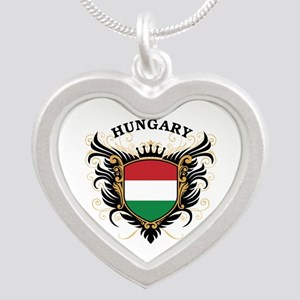 Hungary Silver Heart Necklace