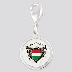 Hungary Silver Round Charm