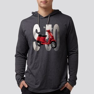 Red-S-50 Mens Hooded Shirt