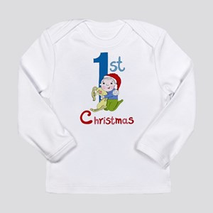 First Christmas Baby Boy Long Sleeve Infant T-Shir