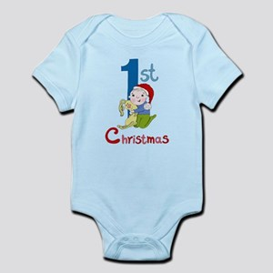 First Christmas Baby Boy Infant Bodysuit