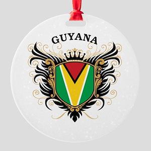 Guyana Round Ornament