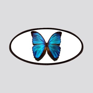 blue butterfly two Patches