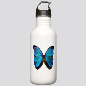 blue butterfly two Stainless Water Bottle 1.0L