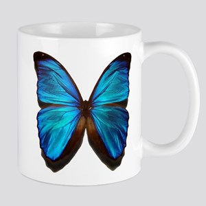 blue butterfly two Mug