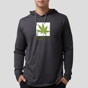 Hope For Dope Larger Mens Hooded Shirt