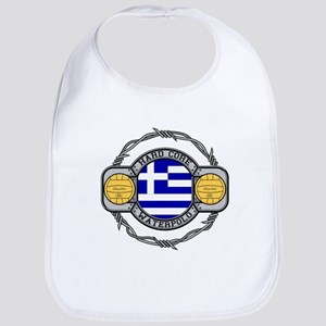 Greece Water Polo Bib
