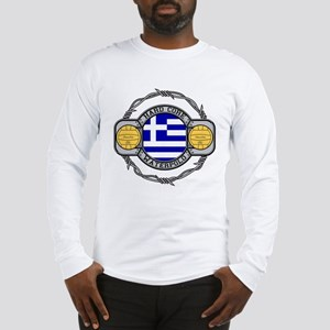 Greece Water Polo Long Sleeve T-Shirt