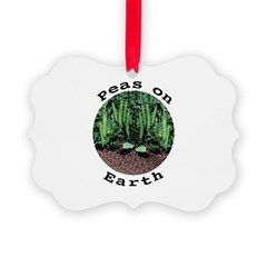 Peas On Earth Ornament
