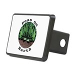 Peas On Earth Rectangular Hitch Cover