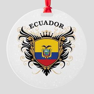 Ecuador Round Ornament