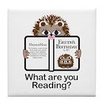 Hedgehog Tile Coaster