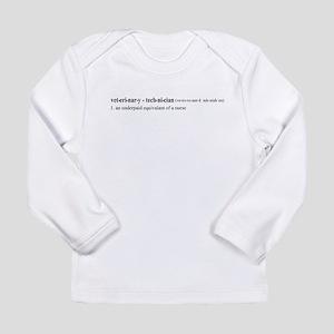 Vet Tech Definition Long Sleeve Infant T-Shirt