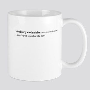 Vet Tech Definition Mug