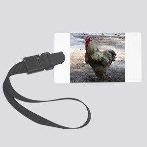 Chicken Large Luggage Tag