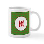 Christmas Wrap Monogram Mug