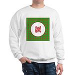 Christmas Wrap Monogram Sweatshirt