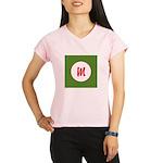 Christmas Wrap Monogram Performance Dry T-Shirt