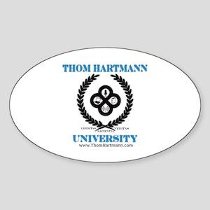TH University Crest Sticker (Oval)