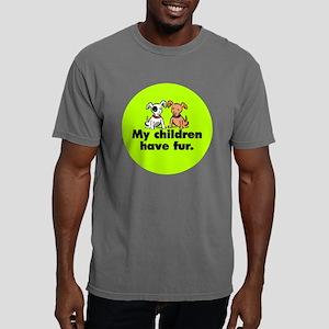 fur_dogs_butt Mens Comfort Colors Shirt