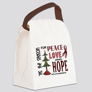 Tis the Season Canvas Lunch Bag
