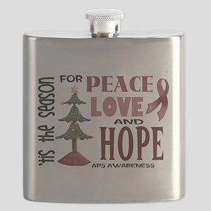 Tis the Season Flask