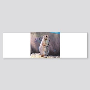 Prairie Dog Sticker (Bumper)