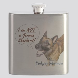 I am NOT a German Shepherd Flask