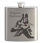 Belgian Malinois Silo Flask
