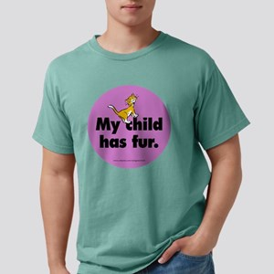 fur_cat_round Mens Comfort Colors Shirt