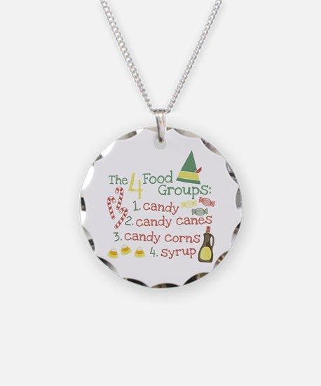 The 4 Food Groups Necklace