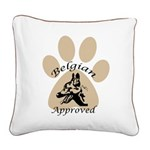 Belgian Approved Square Canvas Pillow