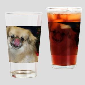 Luv A Tibbie Drinking Glass
