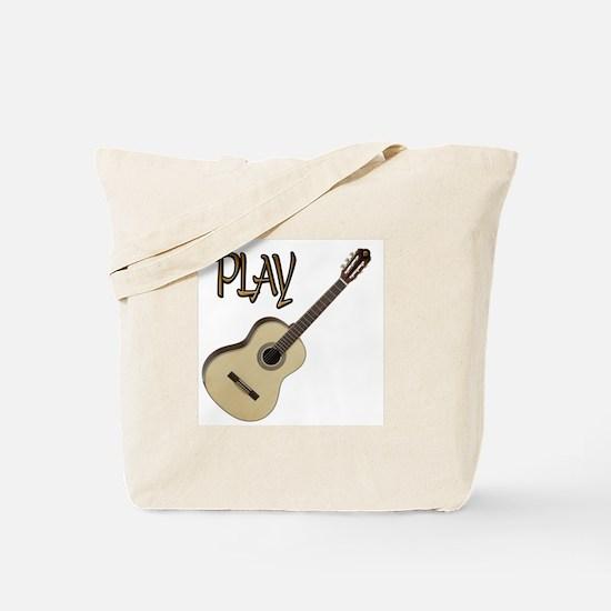 PLAY- CLASSICAL GUITAR copy.png Tote Bag