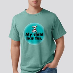 fur_dog_round Mens Comfort Colors Shirt