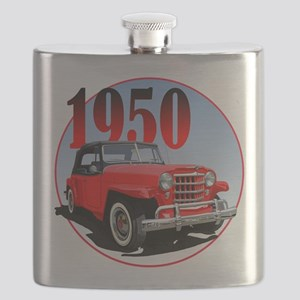 1950 Redjeepster Flask