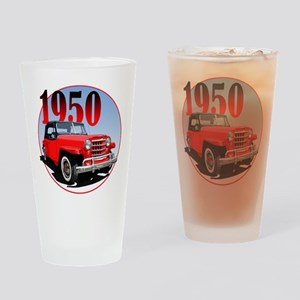 1950 Redjeepster Drinking Glass